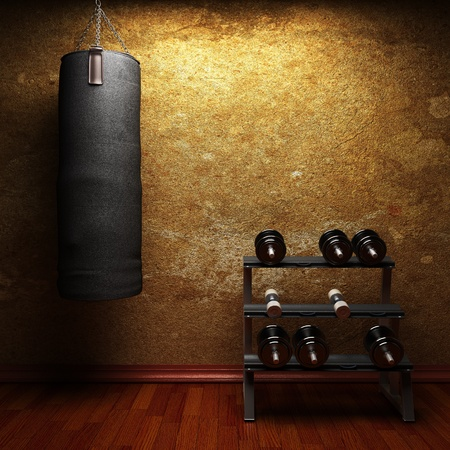 Photo for gym room made in 3d - Royalty Free Image
