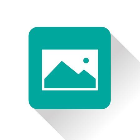 Ilustración de icon of image photo - Imagen libre de derechos
