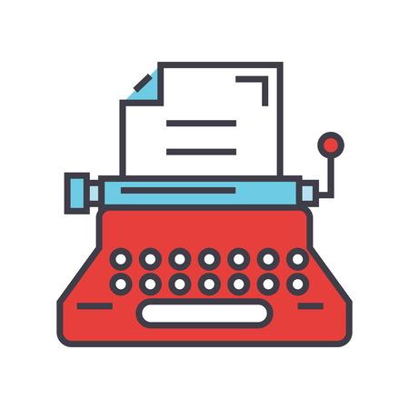 Ilustración de Typewriter icon. - Imagen libre de derechos