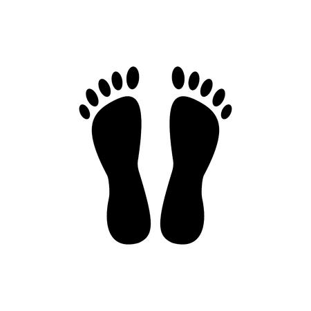 Ilustración de heels - pedicure icon, illustration, vector sign on isolated background - Imagen libre de derechos