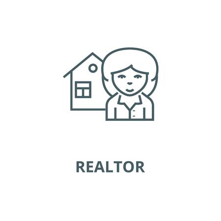 Illustration pour vector line icon, outline concept, linear sign - image libre de droit