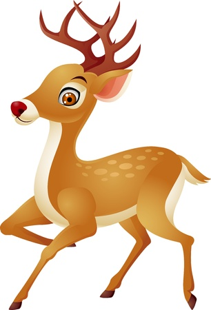Photo for Deer cartoon - Royalty Free Image