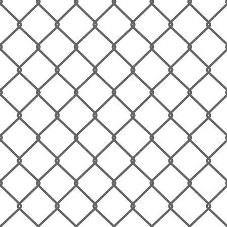 Illustration pour Seamless Wire Mesh. Net. Cage. Vector illustration - image libre de droit