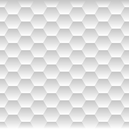 Illustration pour Seamless Honeycomb. Hexagon Background Pattern. Vector illustration - image libre de droit