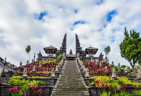 Photo for Stairway to Pura Besakih in Bali,Indonesia. - Royalty Free Image