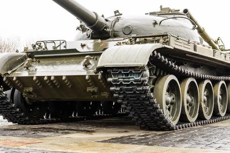 Photo pour Armored tank in memorial of the Great Patriotic War in Kiev, Ukraine - image libre de droit