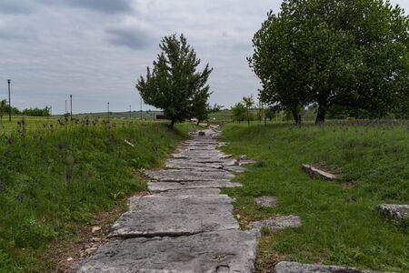 Foto per Nikopolis ad Istrum -Ruins of old Rome town in Bulgaria, near Veliko Tarnovo. - Immagine Royalty Free
