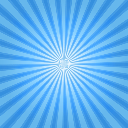 Illustration for Rays background blue - Royalty Free Image