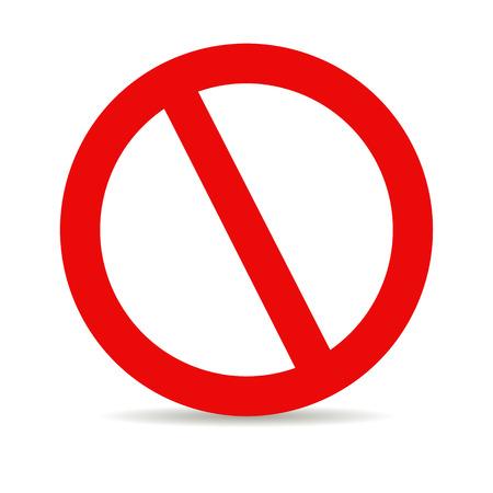 Illustration pour Red stop - image libre de droit