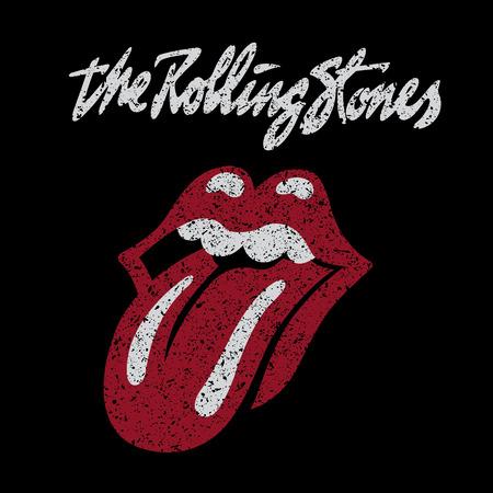 Photo pour RUSSIA - OCTOBER 07, 2016: The Rolling Stones logo - image libre de droit