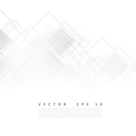 Illustration pour Vector white squares. Abstract background. Gray blank - image libre de droit