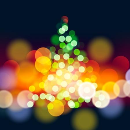 Ilustración de Christmas tree lights  - Imagen libre de derechos
