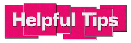 Foto de Helpful Tips Pink Texture Blocks - Imagen libre de derechos