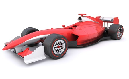 Photo for Formula race red car designed by myself - Royalty Free Image