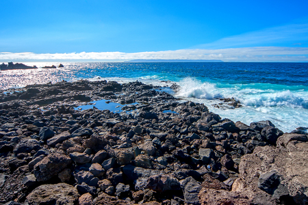 Photo for Atlantic coast of the island of Tenerife - Royalty Free Image