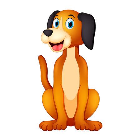 Ilustración de Happy dog illustration - Imagen libre de derechos