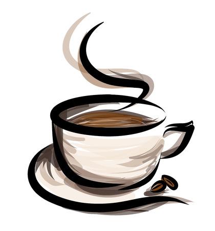 Ilustración de coffee illustration - Imagen libre de derechos