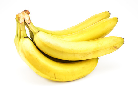 Photo pour Bunch of bananas isolate on white background - image libre de droit