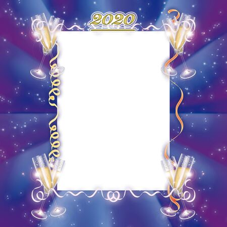 Photo for 2020 menu recurrence new year party - Royalty Free Image