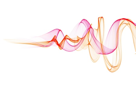 Foto de Abstract design with multi-colored lines - Imagen libre de derechos