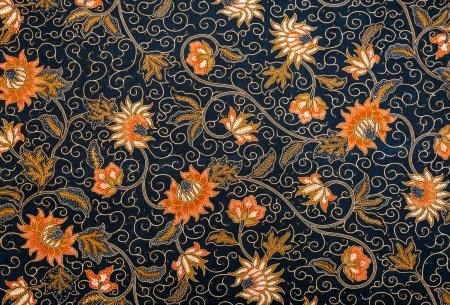 Photo for Batik Pattern - Royalty Free Image