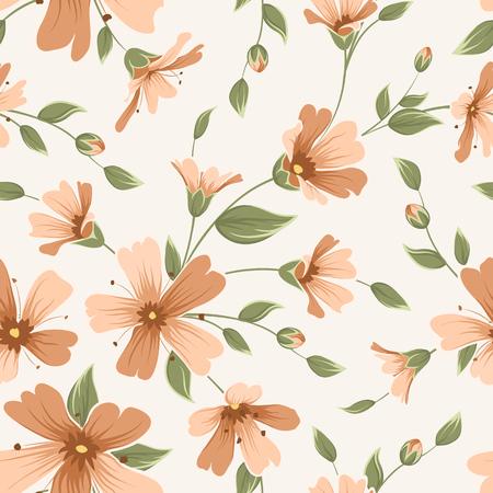 Foto für Crimson maroon gypsophila floral seamless pattern texture. Babys breath flowers buds stem leaves inflorescence bouquet on white background. Vector design illustration. - Lizenzfreies Bild