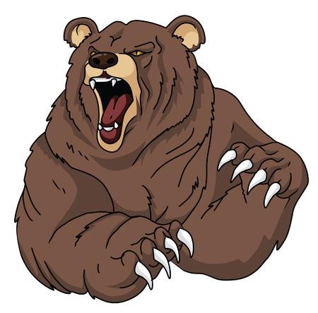 Illustration pour Bear - image libre de droit