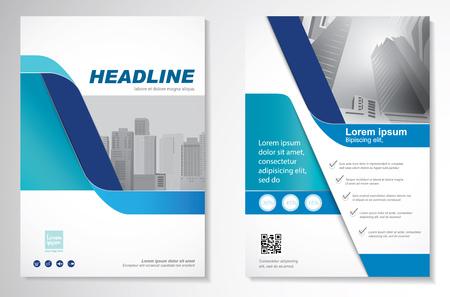 Ilustración de Template vector design for Brochure, Annual Report, Magazine, Poster. - Imagen libre de derechos