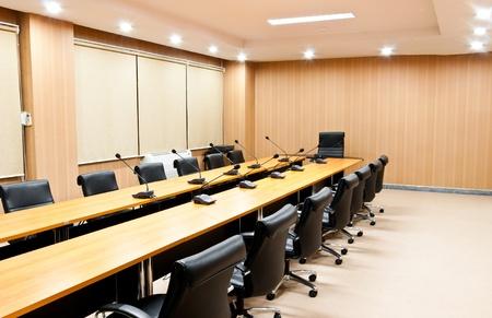 Foto de Business meeting room or board room interior - Imagen libre de derechos
