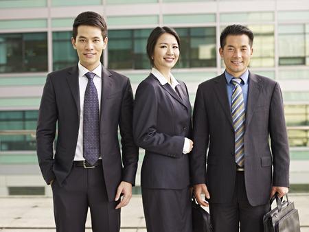 Foto de portrait of an asian business team. - Imagen libre de derechos