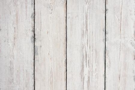 Photo pour Wood Planks Texture, White Wooden Table Background, Floor or Wall - image libre de droit