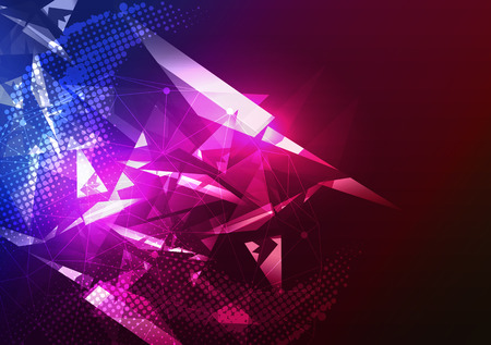 Illustration for Disco Party Poster Background Template - Vector Illustration - Royalty Free Image