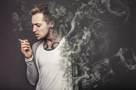 Foto de The concept  smoking kills   - Imagen libre de derechos