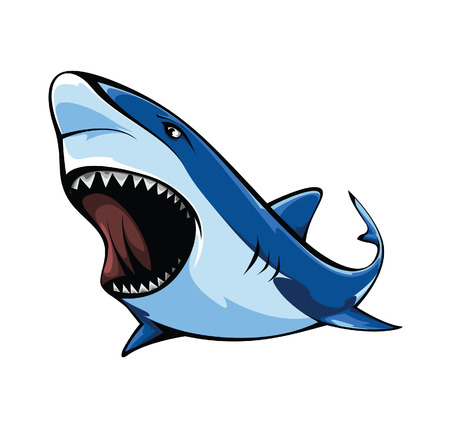 Ilustración de Shark - Imagen libre de derechos