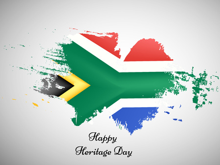 Illustration for illustration of elements of heritage day background - Royalty Free Image