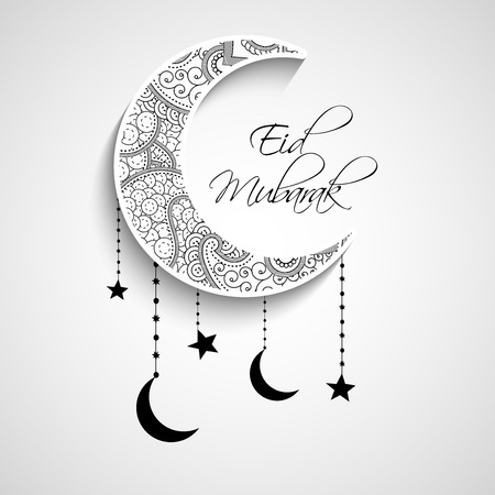 Illustration for Eid Background - Royalty Free Image