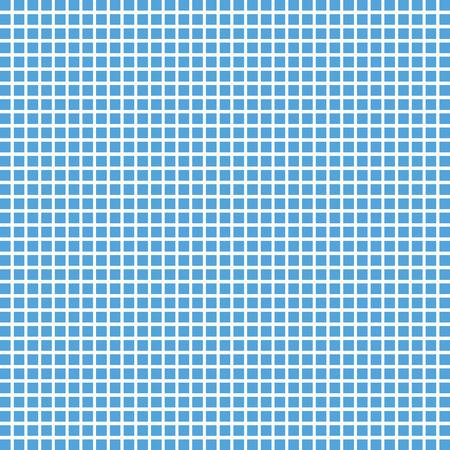 Illustration pour Vector blue square checkered background or texture. Tile background - image libre de droit