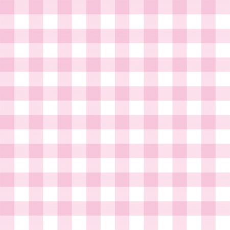 Illustration pour Seamless sweet pink and white background - classic big checkered pattern or grid texture for web design, desktop wallpaper or culinary blog website - image libre de droit