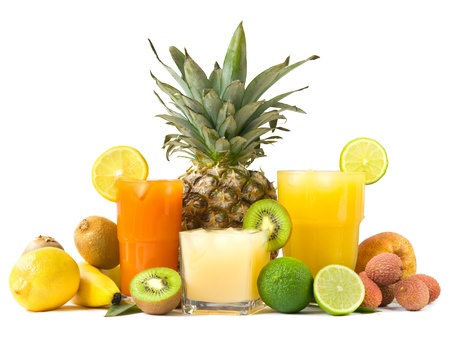 Photo for Tropical juices - Royalty Free Image