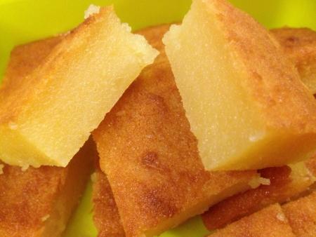Homemade traditional sweet potato dessert
