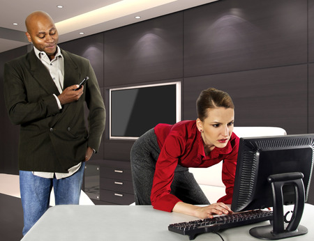 Photo for Office Harassment - Royalty Free Image