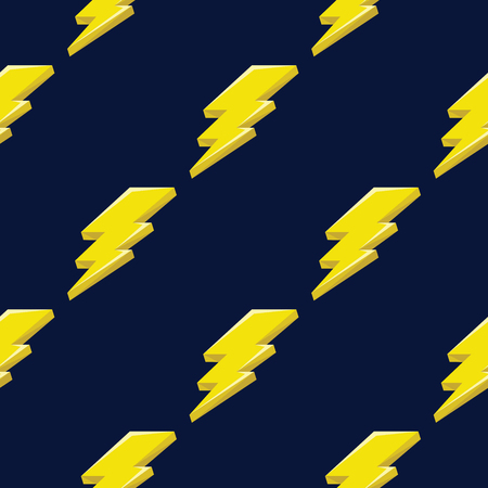 Ilustración de Thunder pattern. Thunder icon. Thunder abstract can be used for wallpaper, cover fills, web page background, surface textures. - Imagen libre de derechos