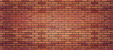 Foto de Red brick wall texture for background - Imagen libre de derechos