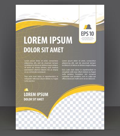 Foto de Vector brochure, flyer, magazine, poster and cover empty template - Imagen libre de derechos