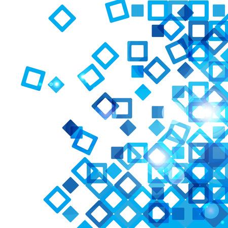 Illustration pour Blue abstract design - image libre de droit