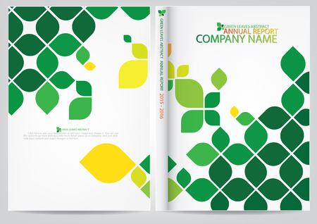 Illustration for Annual report cover design - Royalty Free Image