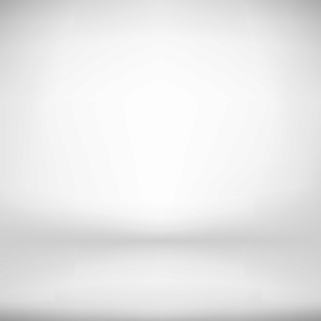 Illustration pour Empty White Studio Backdrop Interior   - image libre de droit