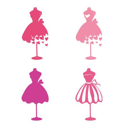 Ilustración de Dress mannequins - Imagen libre de derechos
