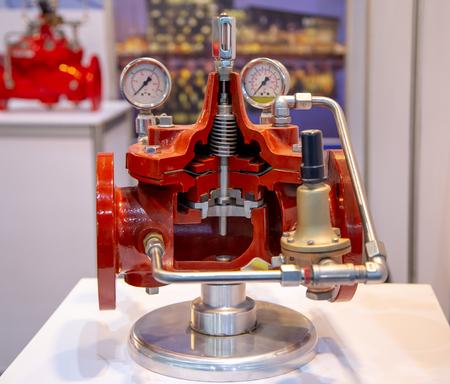 Photo pour Deluge valve display internal part of valve - image libre de droit