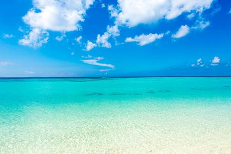 Photo for Sea, beach, seascape. Okinawa, Japan, and Asia. - Royalty Free Image